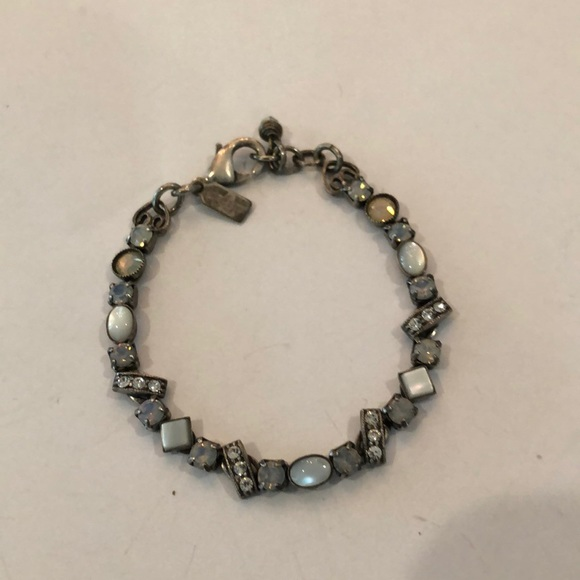 Sold Mary Demarco moonstone silver bracelet